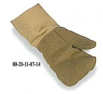 45oz PBI Blend Mitten, 22oz Kevlar Cuff, AMBI, Heavy Wool Liner with Extra Felt Palm Patch