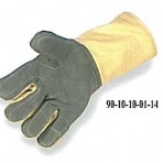 22oz Kevlar Glove: Wool Lined, Full Leather Double Palm