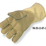 22oz PBI Blend Glove, 22oz Kevlar Cuff, Wool Lined with Felt Palm Patch