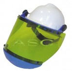 Hard Hat with Face Shield (Clip Style)