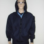 FR Hooded Sweatshirt with Zipper Front