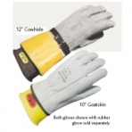 Leather Rubber Insulating Glove Protector